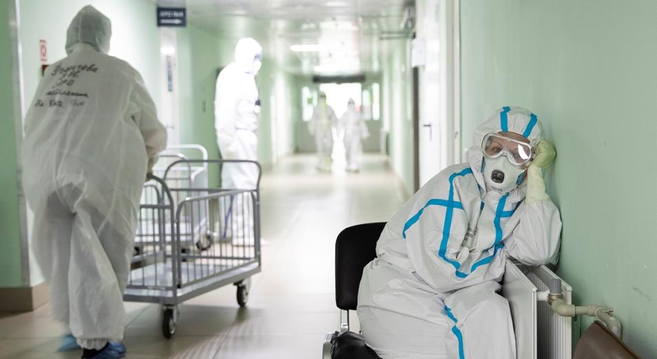 Коронавирус в Казахстане продолжает перерастать в четвертую волну