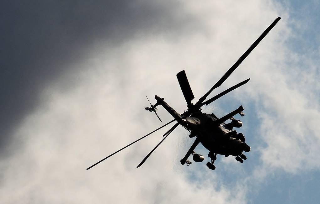 В Сирии совершил вынужденную посадку вертолет Ми-35
