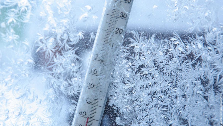 Температура воздуха в СКО опустилась до -42 градусов