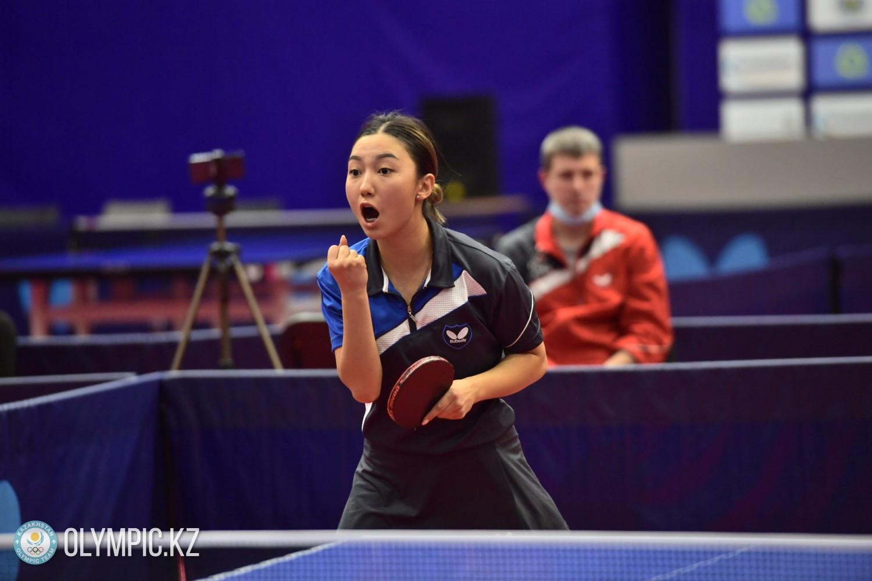 Три рекорда: Итоги чемпионата Казахстана по настольному теннису