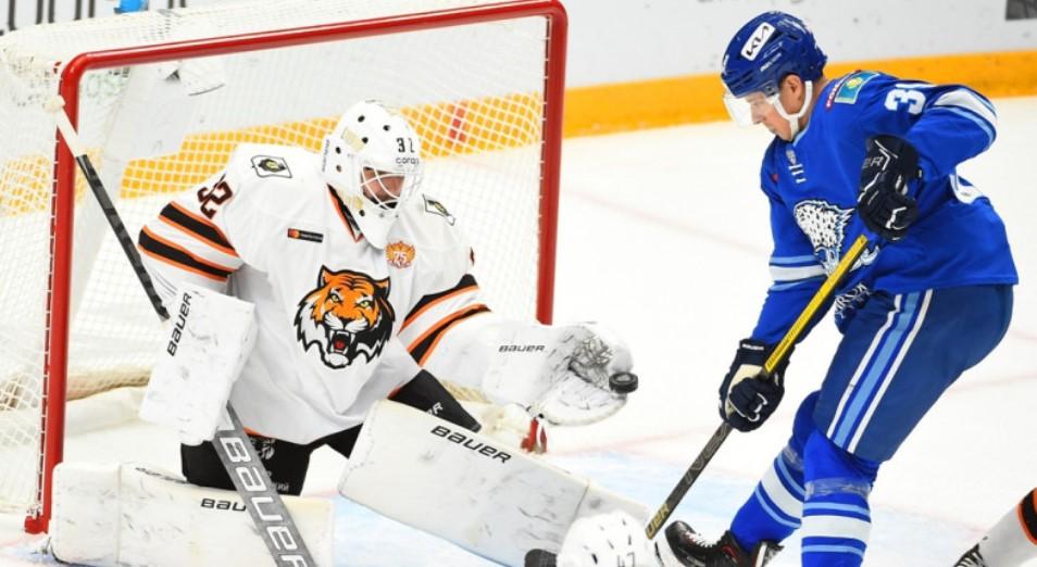 «Барыс» одержал первую победу в сезоне КХЛ
