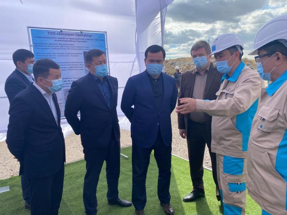 Для кого бельгийцы поставят в Казахстане один из крупнейших в мире известковых заводов?