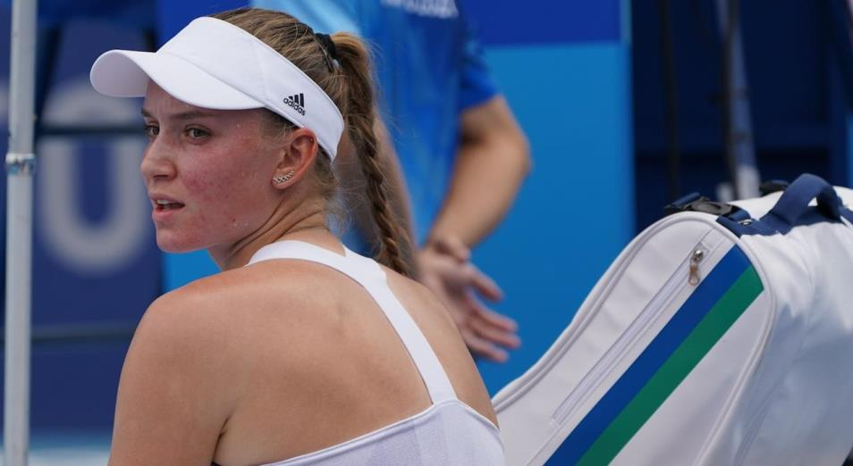 Рыбакина дошла до полуфинала теннисного турнира Олимпиады