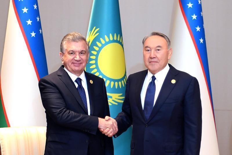 Что обсуждали Назарбаев и Мирзиёев