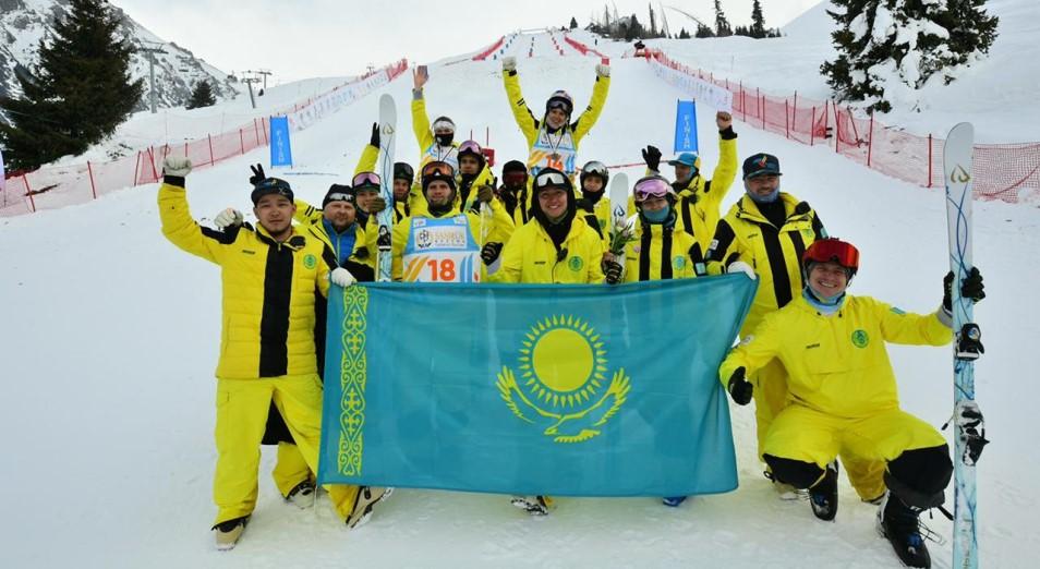 Тимур Кулибаев поздравил команду Казахстана по фристайл-могулу