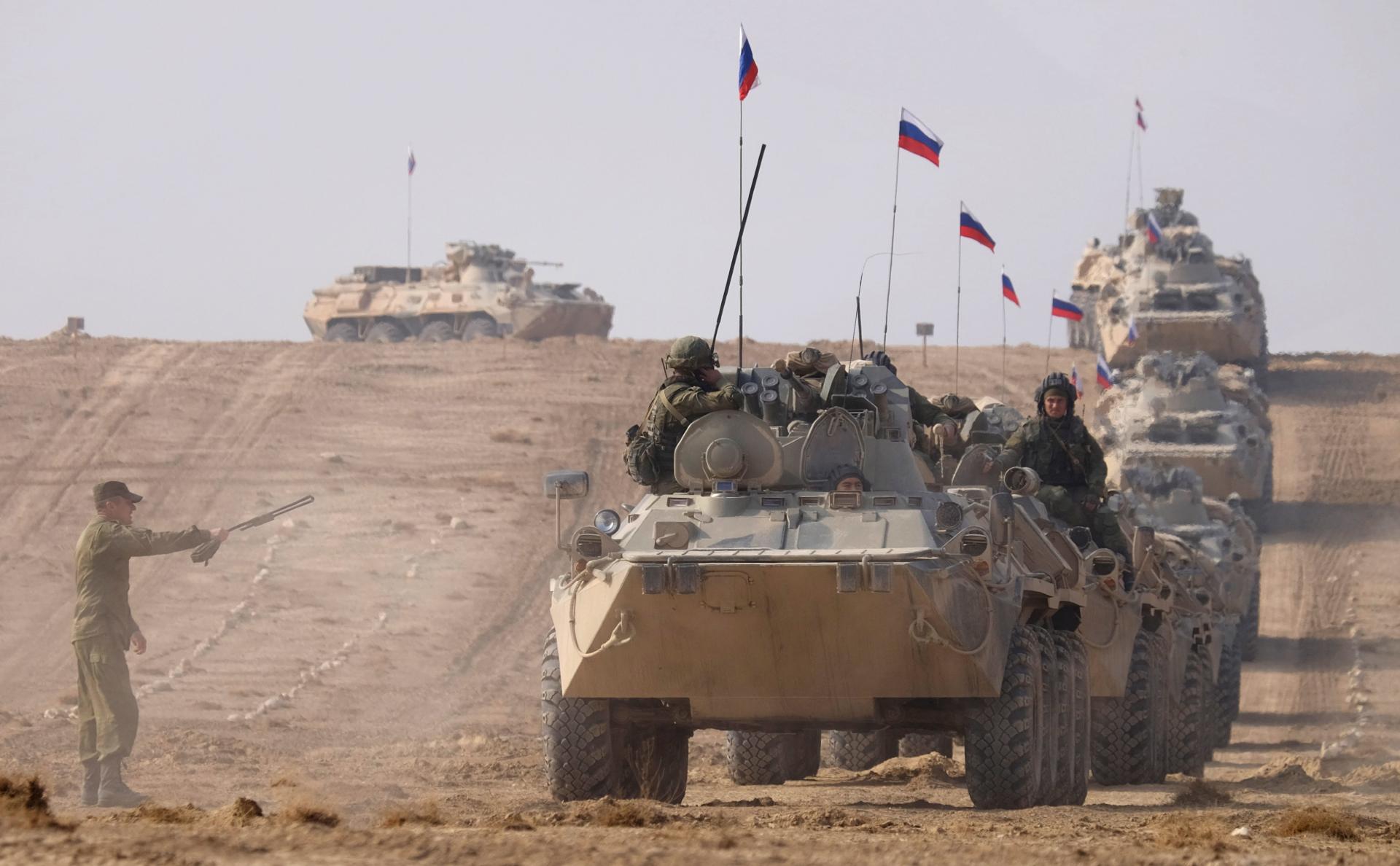Военные из РФ и Узбекистана проведут учение около границы с Афганистаном