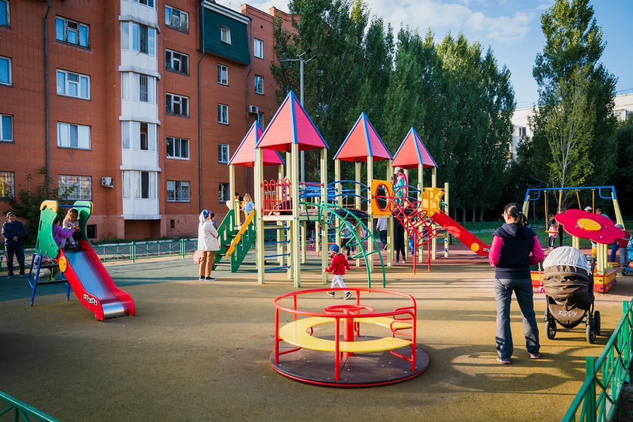 160 дворов и общественных пространств благоустроят в Нур-Султане в 2021 году
