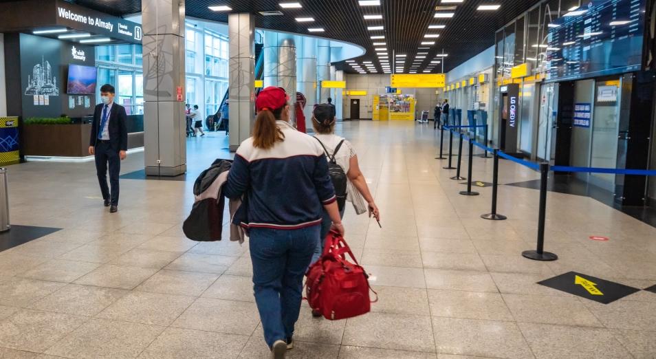 """Авиаперевозки пассажиров в РК обогнали """"докоронакризисные"""" показатели"""