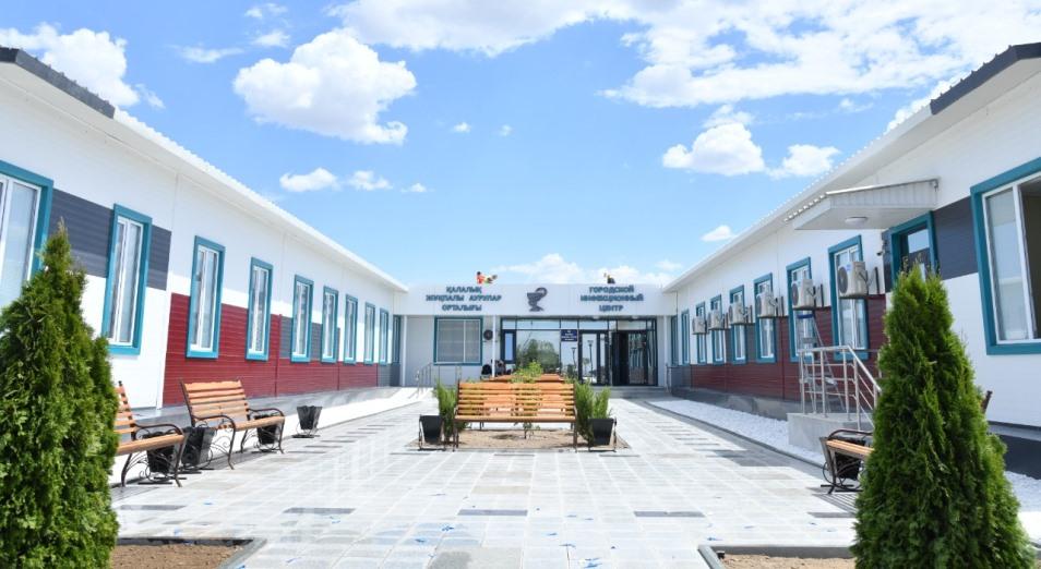 Больше года не принимали новую больницу в Шымкенте