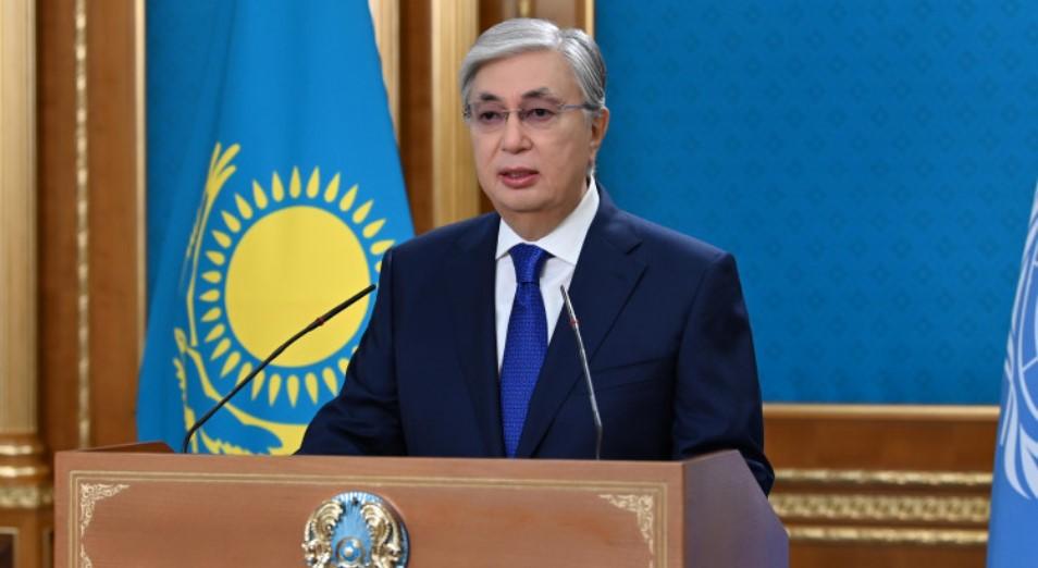 Токаев высказался о восстановлении после COVID-19, климатическом кризисе и ситуации в Афганистане