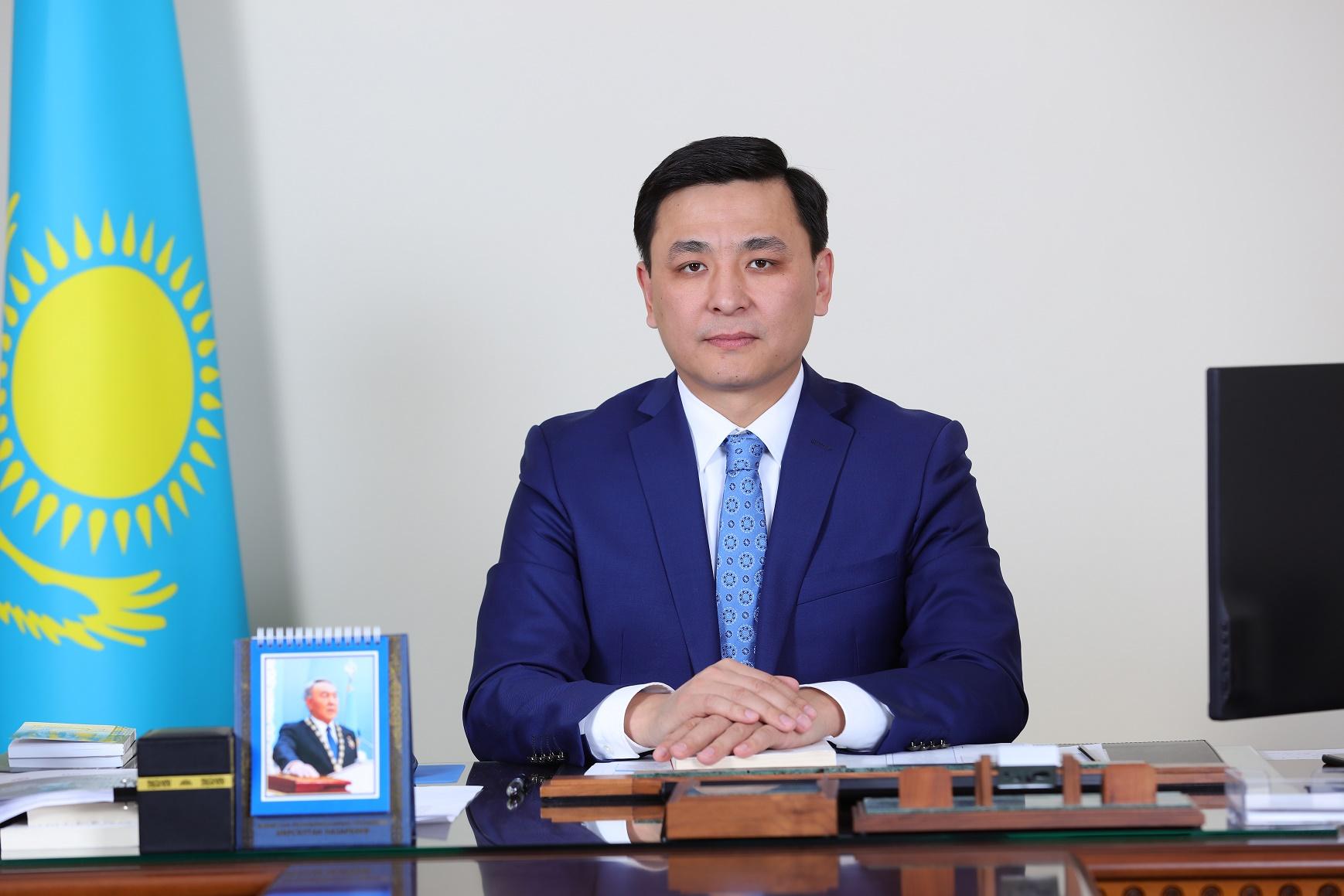 Алтай Кульгинов обратился к астанчанам