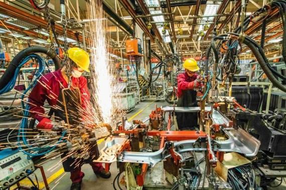 В феврале в Китае отмечено падение PMI в непроизводственном секторе