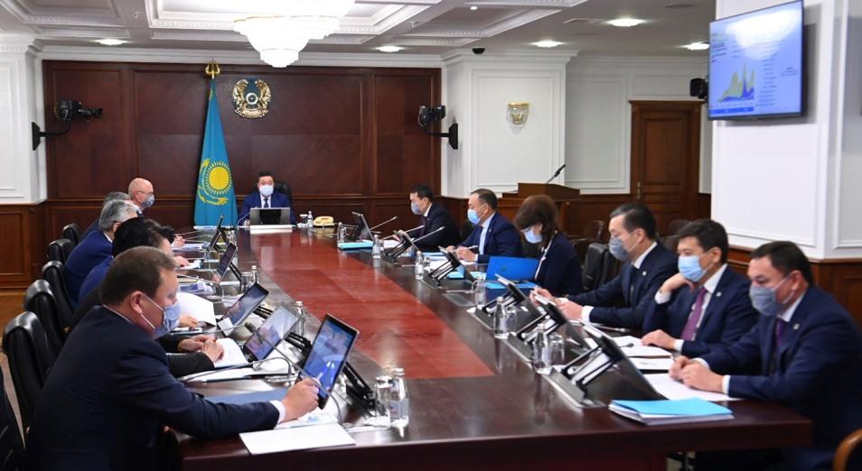 Экономика Казахстана достигла допандемического уровня – Аскар Мамин