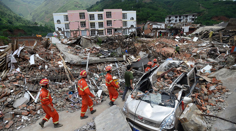 Более 16 млн жителей Китая оказались под влиянием стихийных бедствий всего за месяц