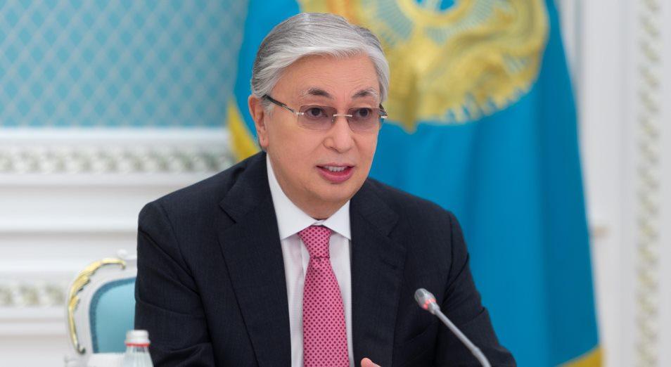 О чем Токаев говорил с главой ВОЗ?