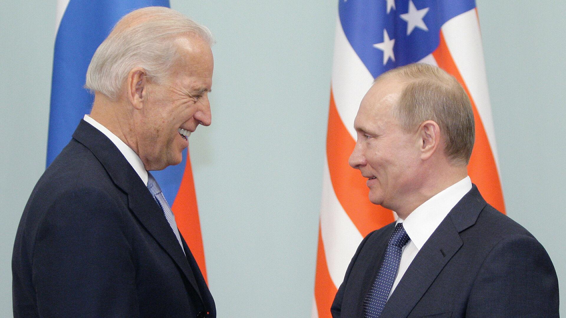 Что обсуждали Байден и Путин