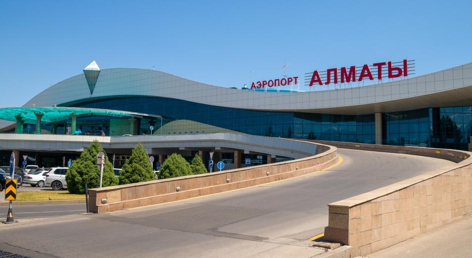 Международный аэропорт Алматы «улетел» в минус