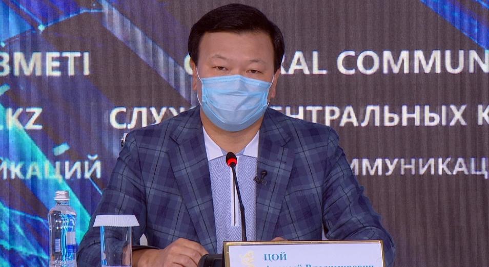 В неделю в Казахстане прирост заболеваемости на 10% – Цой