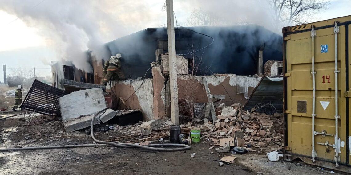 Число погибших при взрыве в Жамбылской области достигло четырнадцати человек