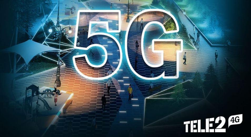Tele2 запустил эру 5G в Казахстане