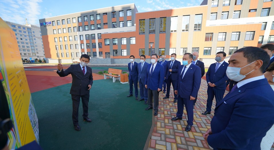 Школы нового формата открыли в Нур-Султане