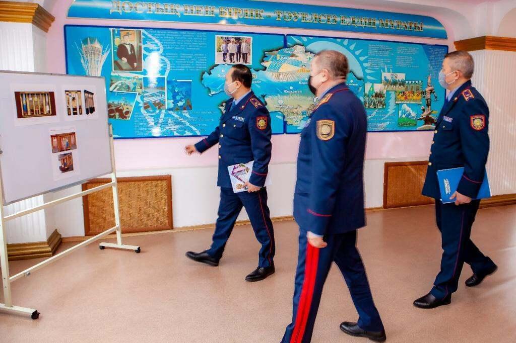 Глава МВД открыл новые спецфакультеты на базе Алматинской академии МВД