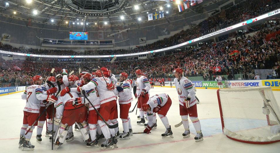 Белоруссию лишили чемпионата мира по хоккею