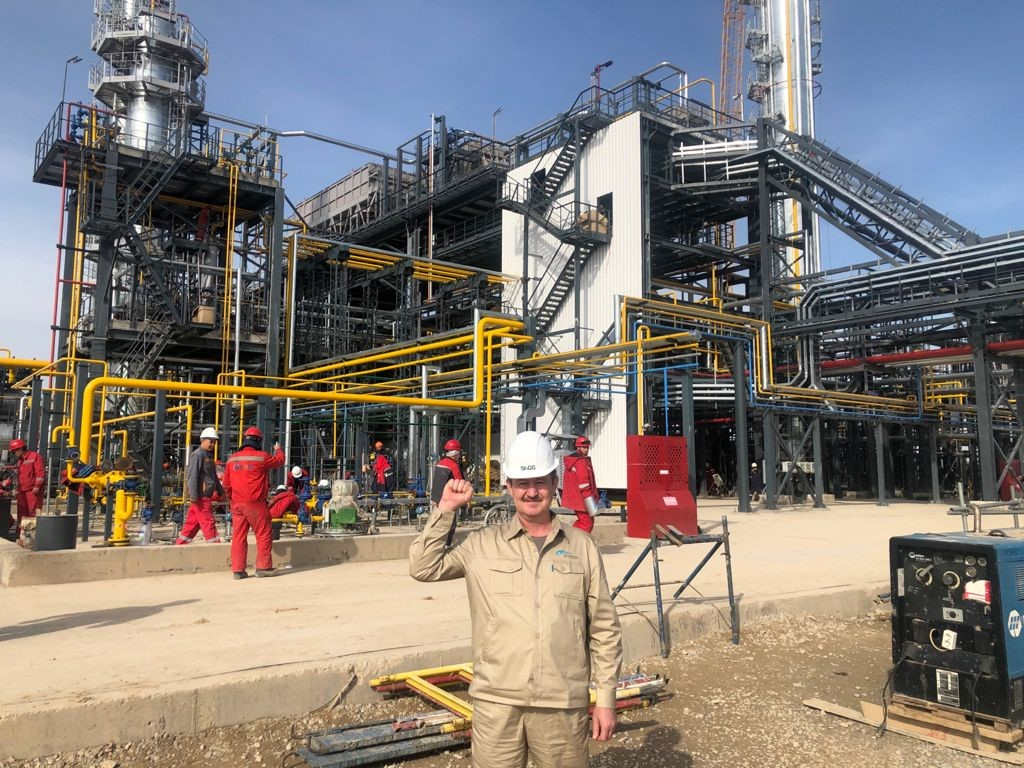 Завод по производству метил-трет-бутилового эфира успешно введен в эксплуатацию