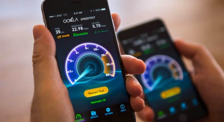 Казахстан вошел в десятку самых быстрорастущих стран по скорости мобильного Интернета