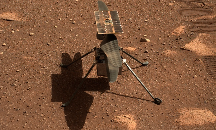 Первый полет вертолета NASA на Марсе отложен из-за возможных неполадок