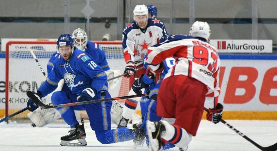 КХЛ: «Барыс» упустил домашнюю победу над ЦСКА