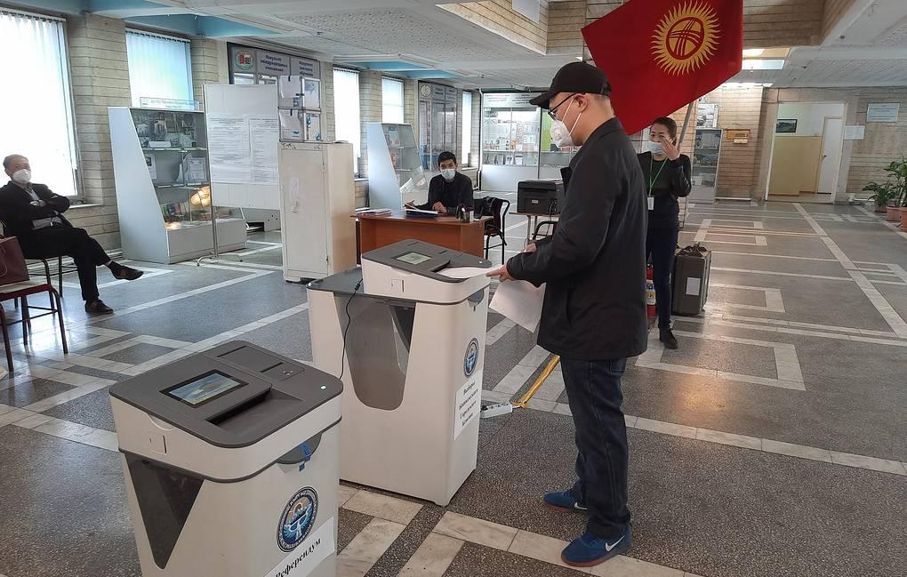 Промежуточная явка на референдуме в Кыргызстане составила 24,63%