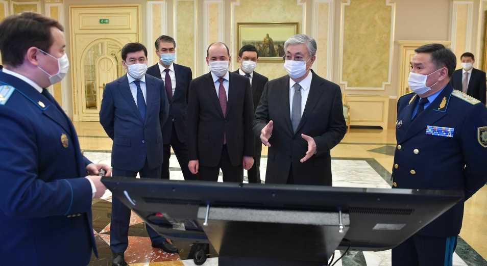 Токаев провел совещание с руководством Генеральной прокуратуры
