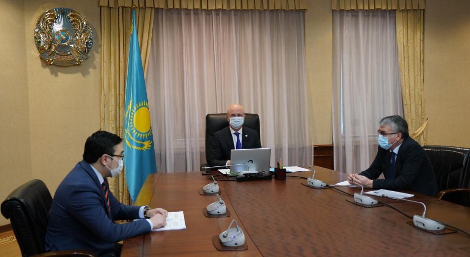 Германия рассматривает возможность сотрудничества с Казахстаном в рамках «зеленой» программы Европейского союза