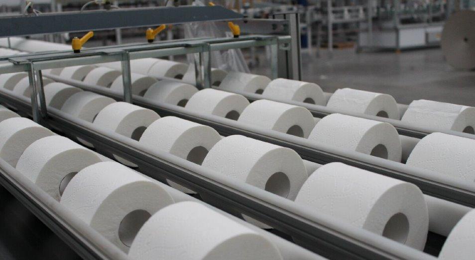 Производство туалетной бумаги в РК сократилось на 5% за год