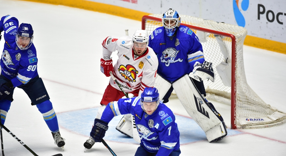 «Барыс» в пятый раз подряд берет два очка в Хельсинки