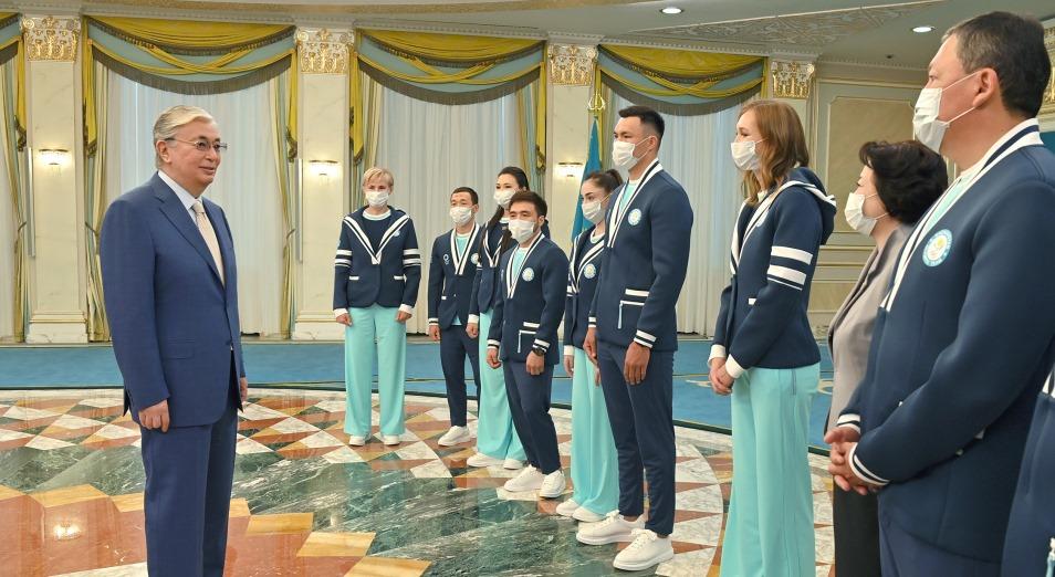 Токаев: Места на олимпийском пьедестале станут не только вашим личным достижением, но и триумфом всей нации