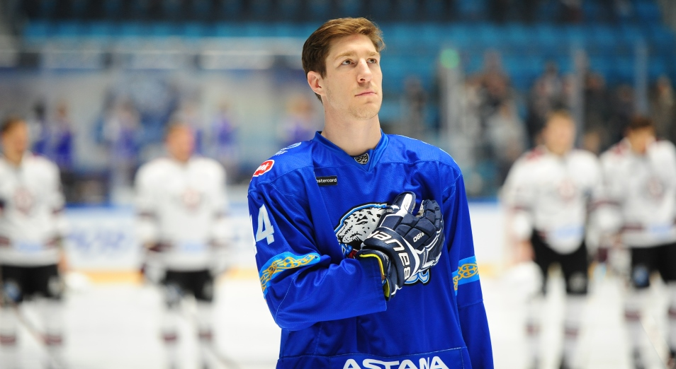 Капитан «Барыса» впервые в сезоне попал в число лучших игроков недели КХЛ