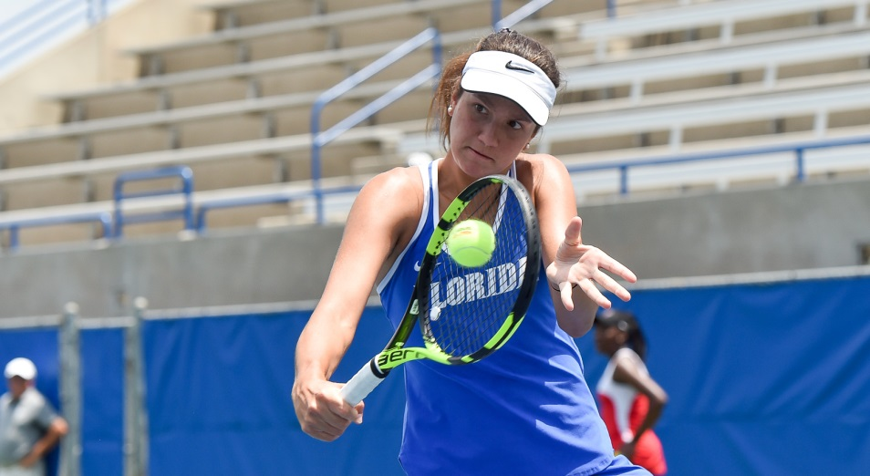 Данилина вышла в четвертьфинал парного разряда Ostrava Open