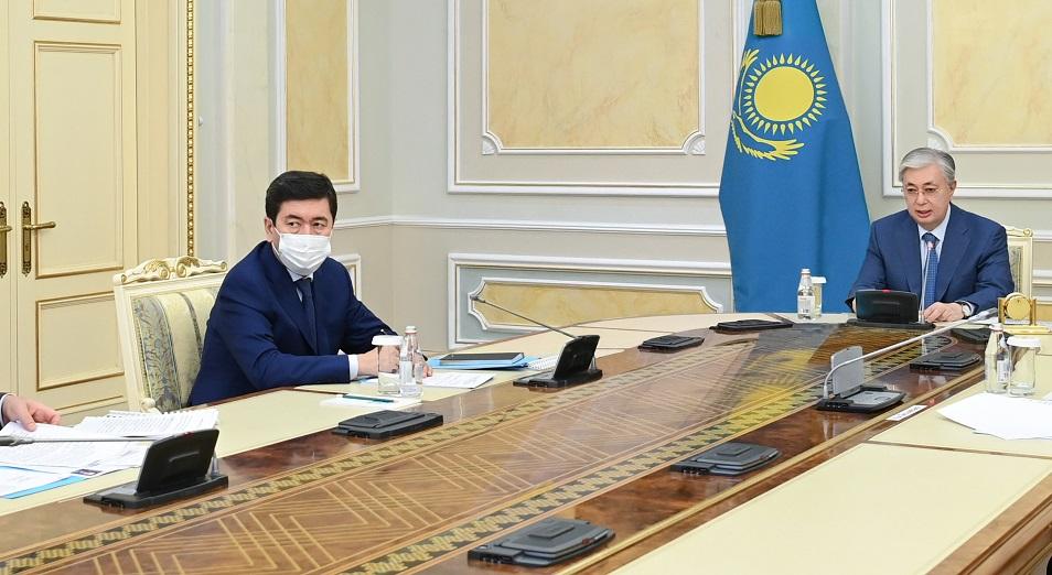 Касым-Жомарт Токаев поручил правительству выработать подходы по привлечению инвестиций в производство газа