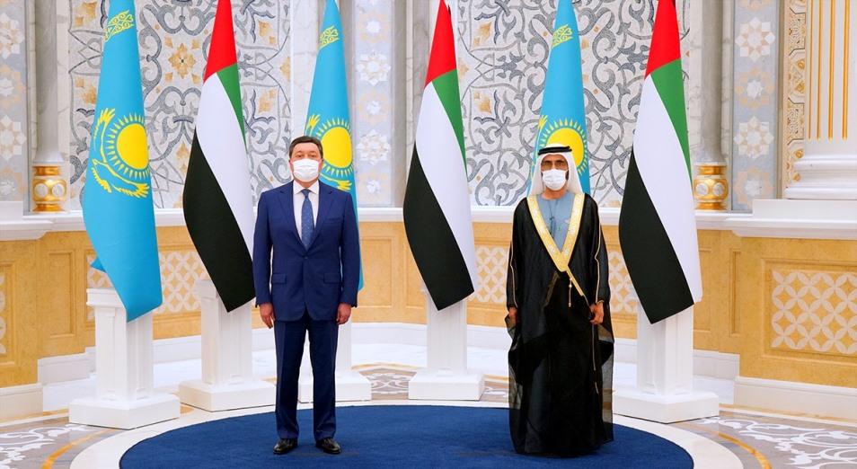 Казахстан заключил с ОАЭ инвестиционные соглашения на $2,2 млрд