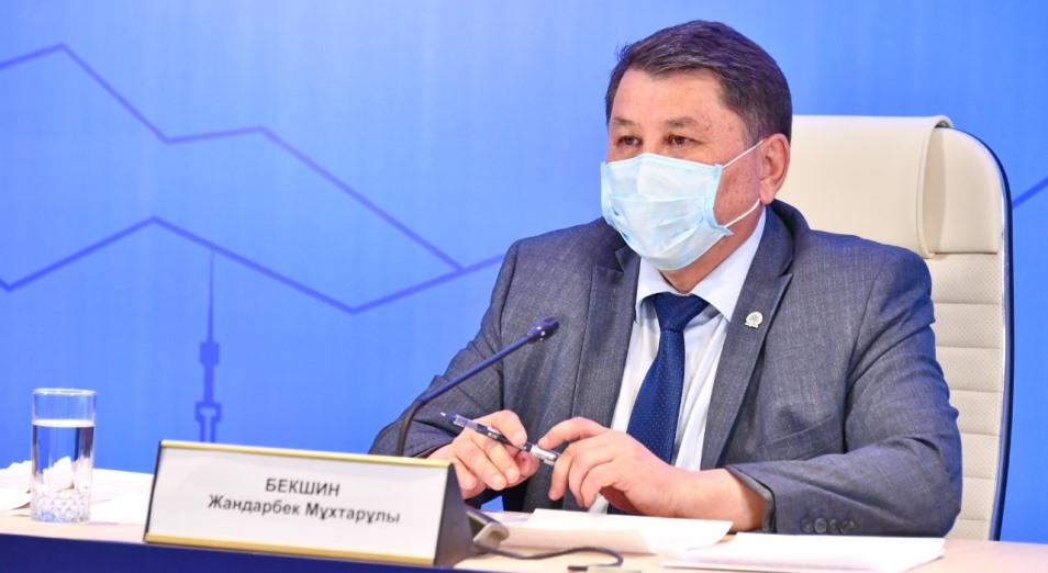 Жандарбек Бекшин: Ограничительные меры в Алматы продлеваются до 31 августа