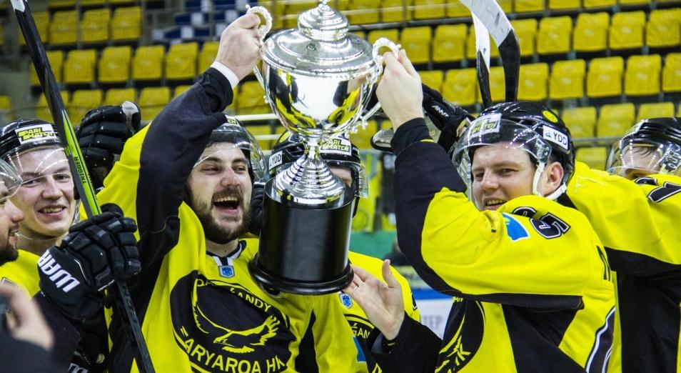 «Сарыарка» во второй раз выиграла Кубок Казахстана по хоккею