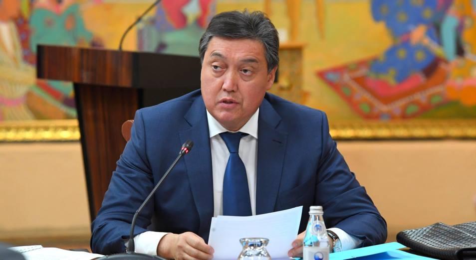 Мамин поручил масштабировать опыт Жамбылской области по сельскому хозяйству