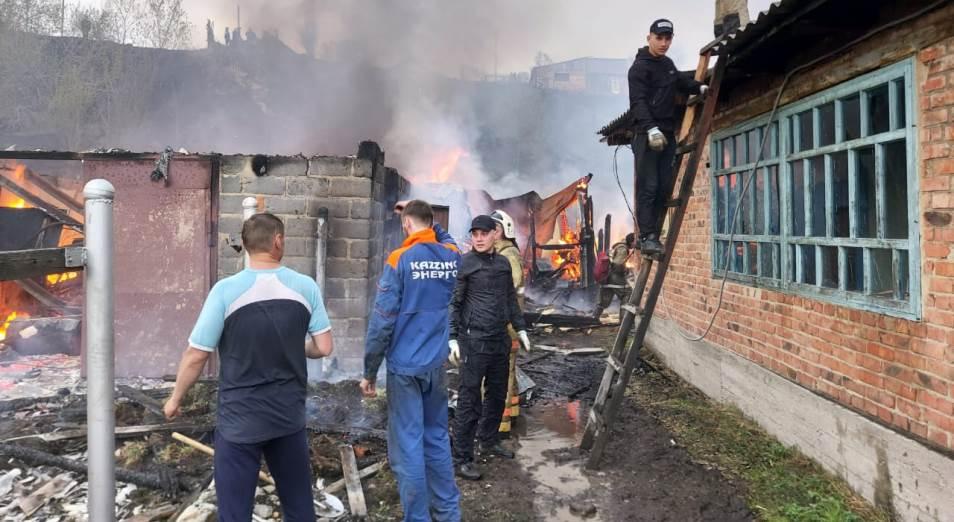 Крупный пожар в Риддере: оставшиеся без дела и кто виноват