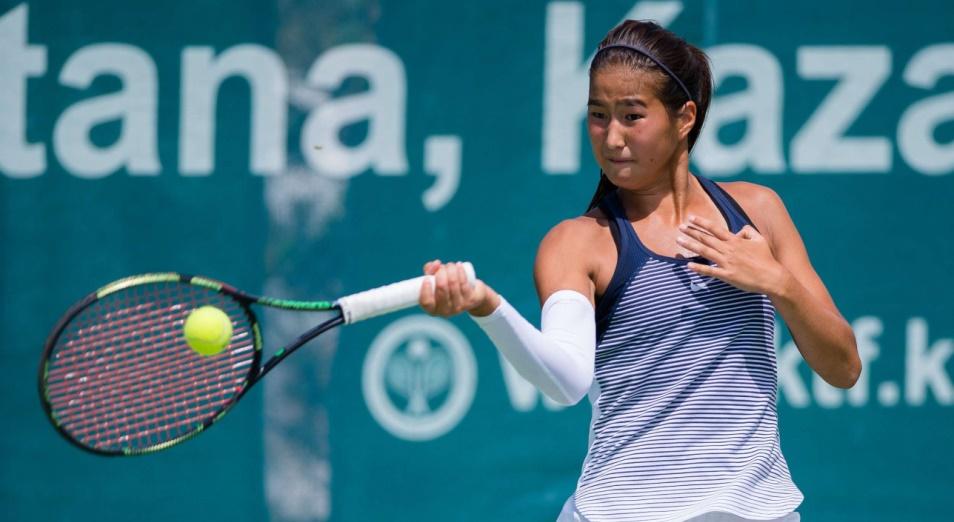 Куламбаева стала абсолютной победительницей турнира ITF в Шымкенте