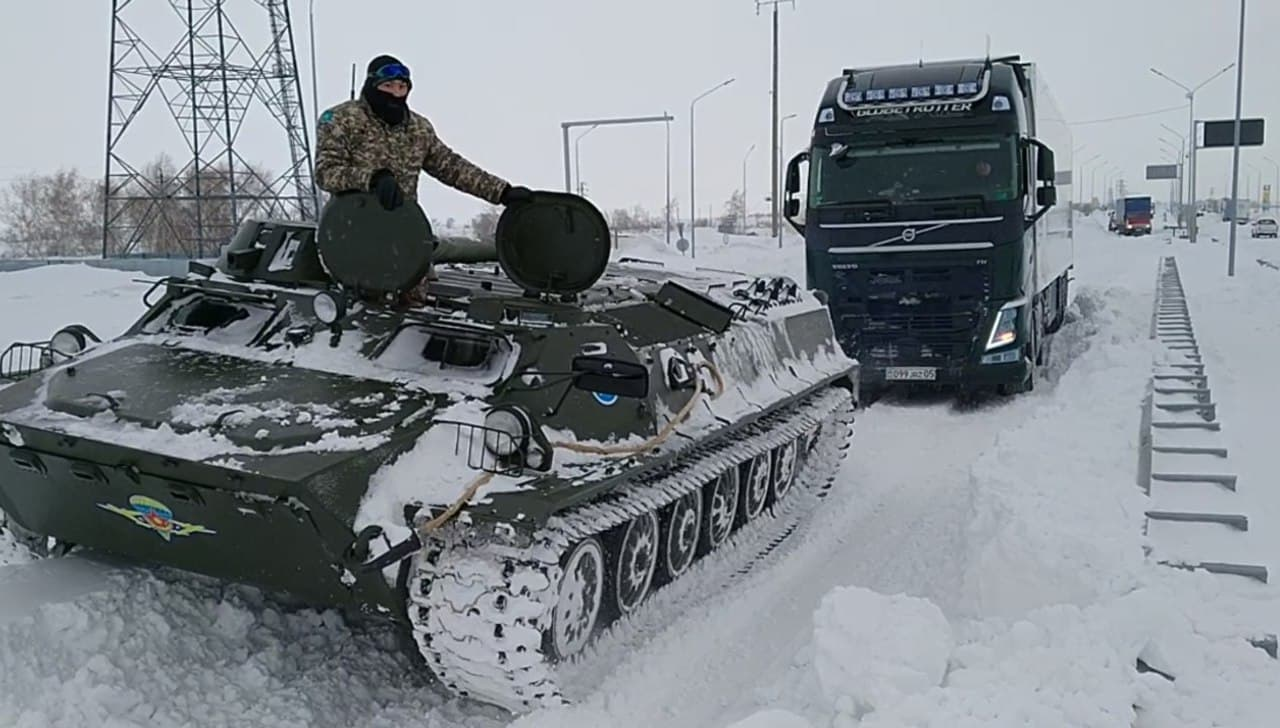 Проверена готовность военной техники к участию в ликвидации последствий ЧС