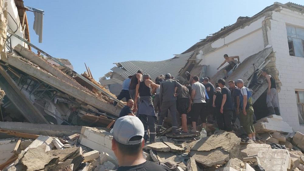 Число жертв при обрушении здания в колонии в Мангистауской области увеличилось до трех человек