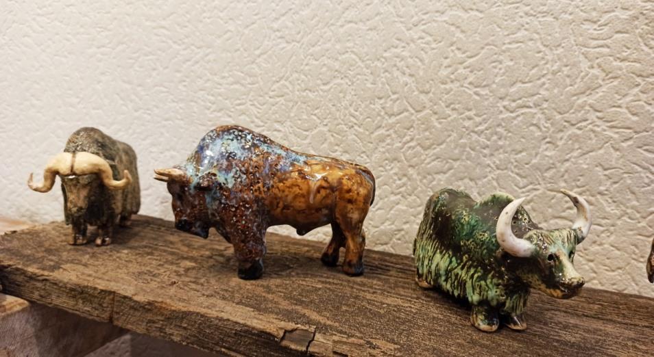 Зоологию в керамике представил 86-летний профессор из Харькова