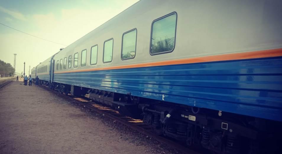 В вагонах пассажирского поезда Сарыагаш – Алматы не было питьевой воды